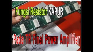 Fungsi R Kapur Final Power Amplifier