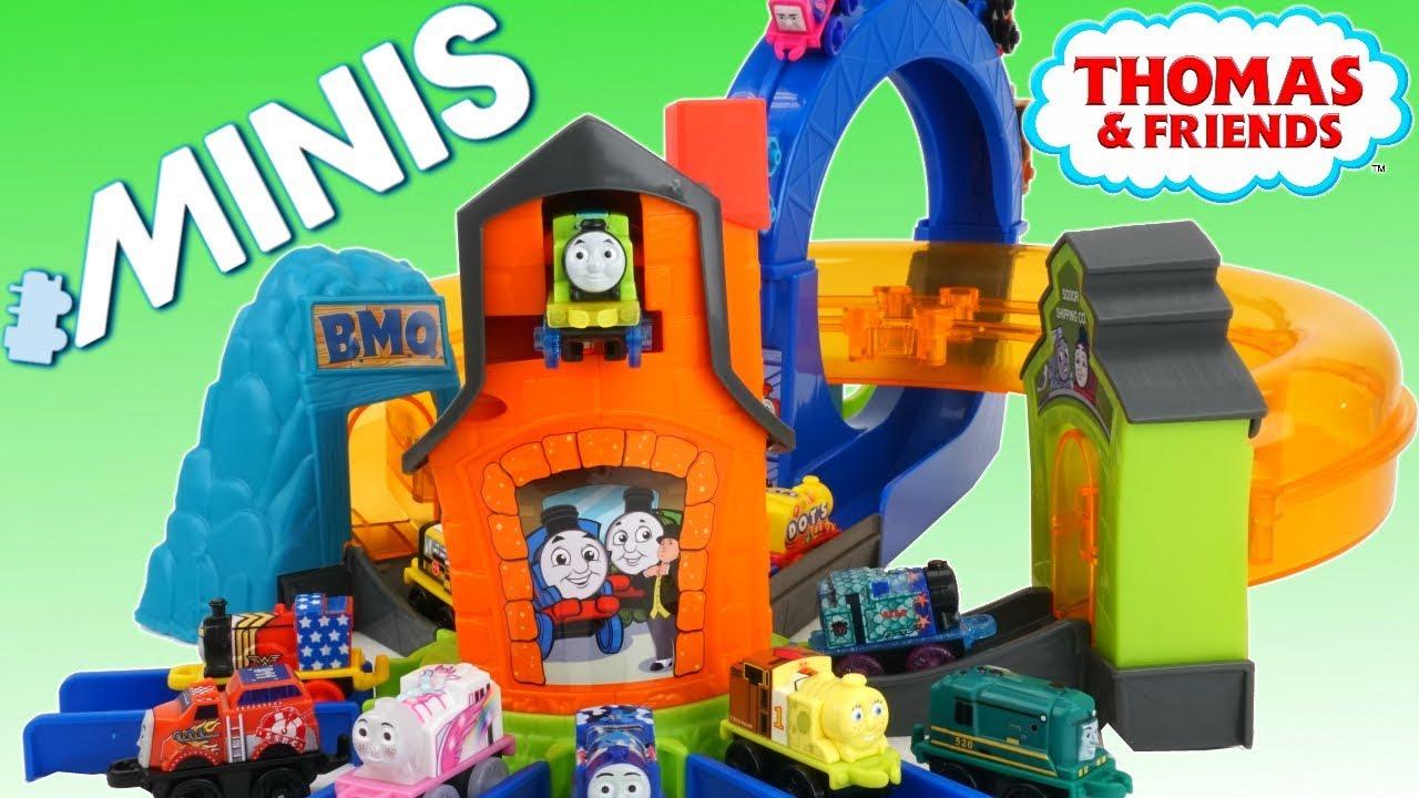 Thomas Minis Boost N Blast Island Of Sodor Playset