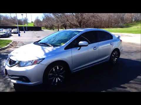 Certified Used 2015 Honda Civic EX-L for sale at Honda Cars of Bellevue...an Omaha Honda Dealer!