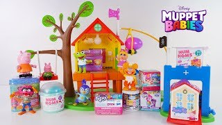 Peppa Pig Treehouse with Muppet Babies New Surprise Toys by DCTC Amy Jo