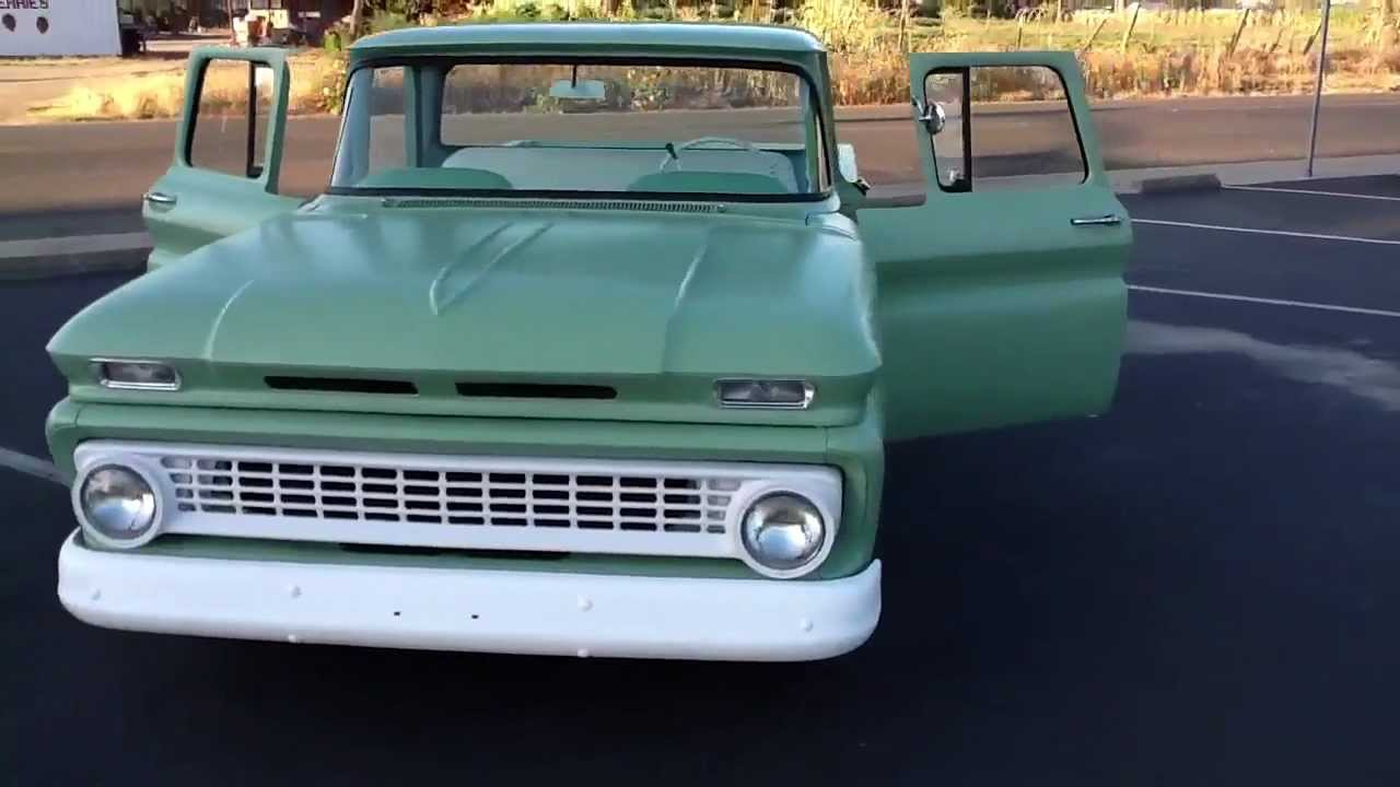 All Chevy 1963 chevy stepside for sale : 1963 Chevy C10 Bagged Kustom - YouTube