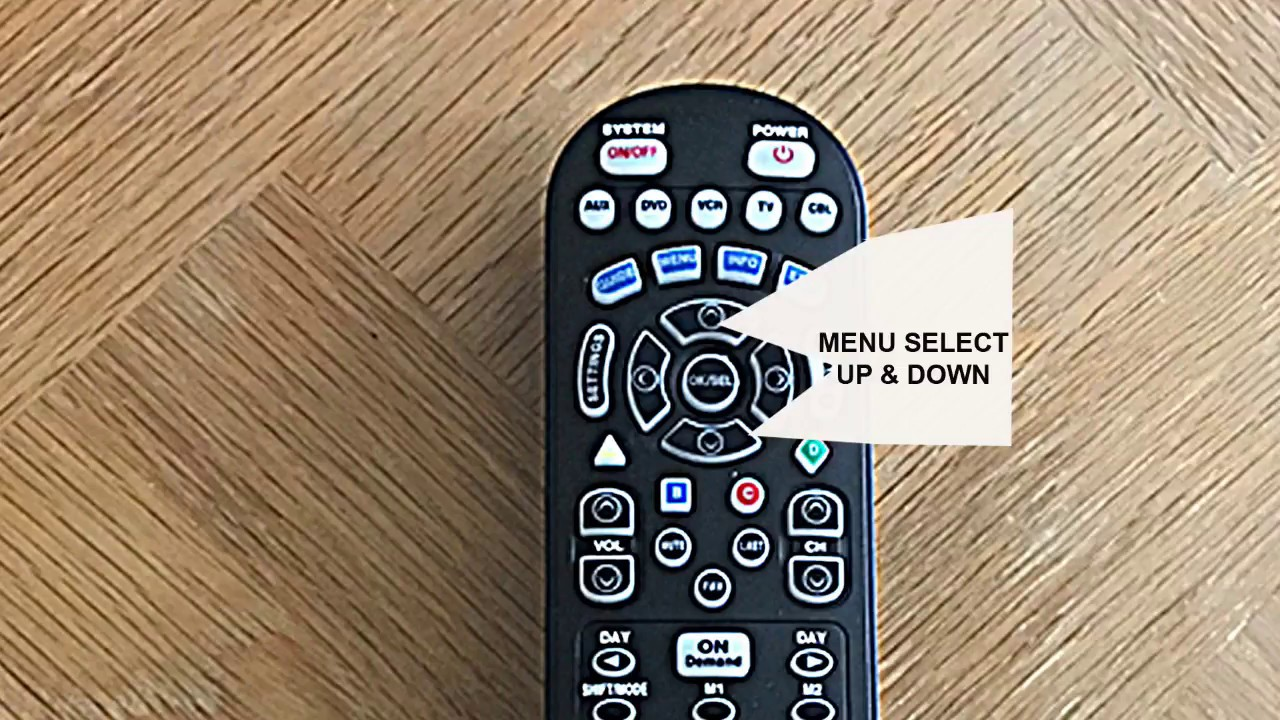Spectrum Cable Tv Remote Operation In Rental Unit 212