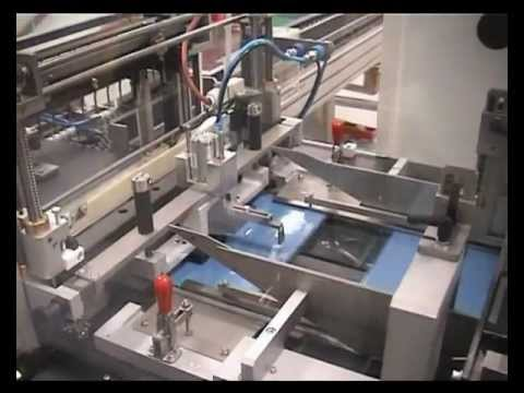 Sollas SX Paperware Wrapping Machine With Roller Conveyor Infeed For Reams Of Paper.