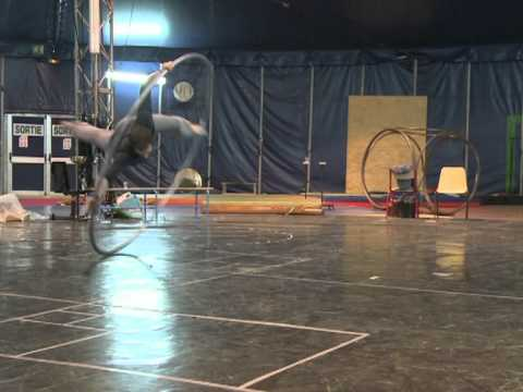 School's out for French circus stars