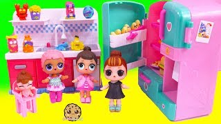 LOL Surprise Baby Dolls Find Grossery Gang Blind Bag Toys - Video