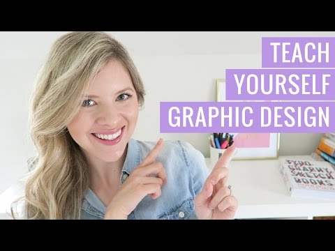 How to Teach Yourself Graphic Design - My Top Tips For Beginners