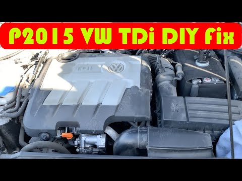 P2015 VW Intake Manifold failure Fix DIY