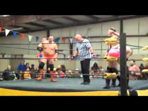 PWA: TLC Exotic Ones Rick Michaels & Stony Hooker vs Exotic Ones Simon Sermon & Tommy Too Much