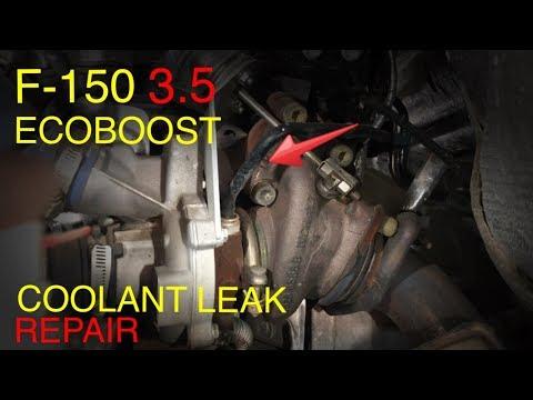 ford  ecoboost turbo coolant leak doovi
