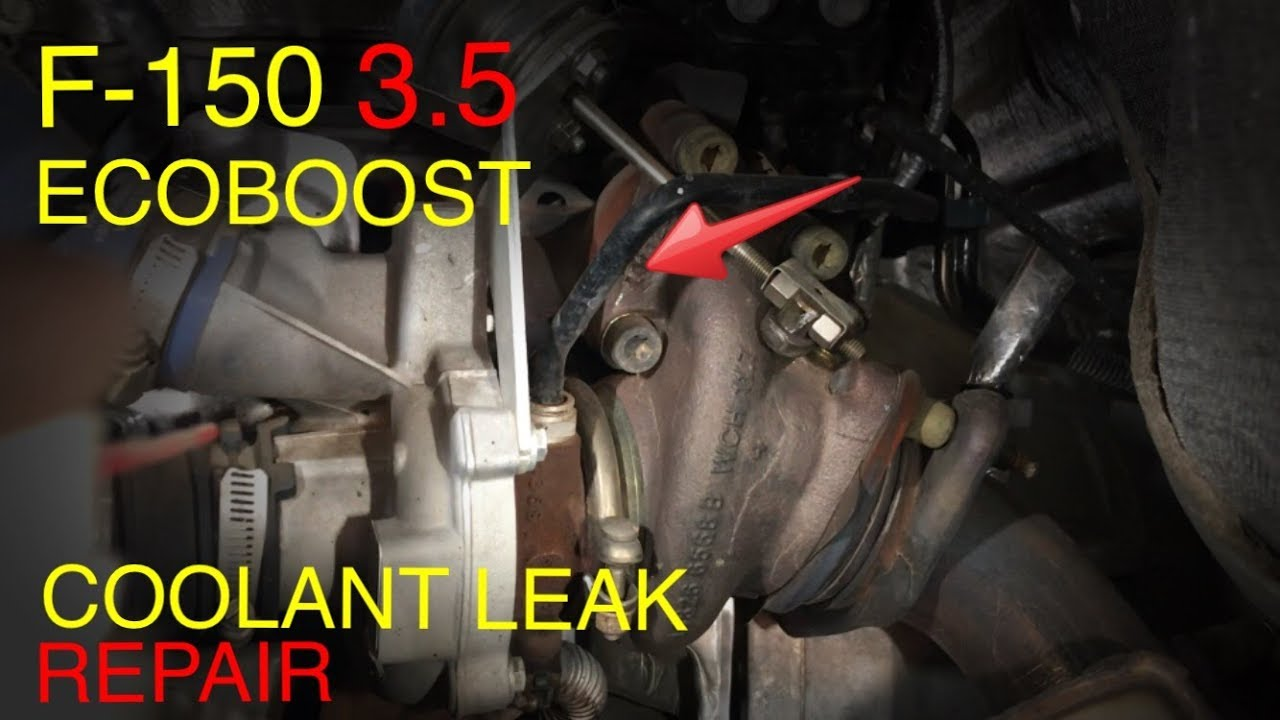 F 150 Ecoboost 3 5 Turbo Coolant Connector Replacement