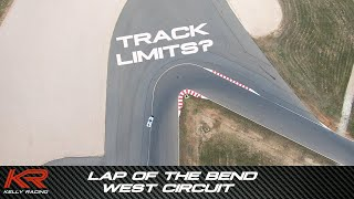 Rick Kelly does a lap of The Bend West Circuit - Kelly Racing