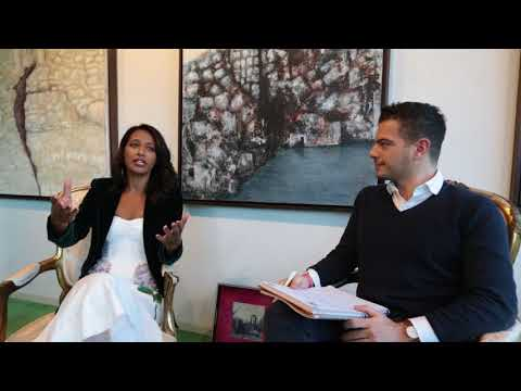 Interview with Rula Jebreal on Israel-Palestinian Conflict and Syrian Refugee Crisis