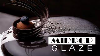 Kỹ thuật Mirror Glaze phủ mạng nhện cho bánh mousse | Học Làm Bánh Á Âu