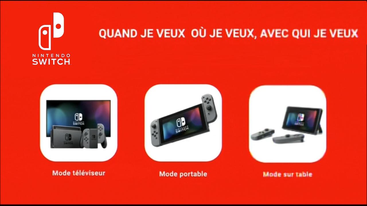 Nintendo switch pub tv fr zelda x mk8 dx x splatoon 2 for Housse zelda pour switch