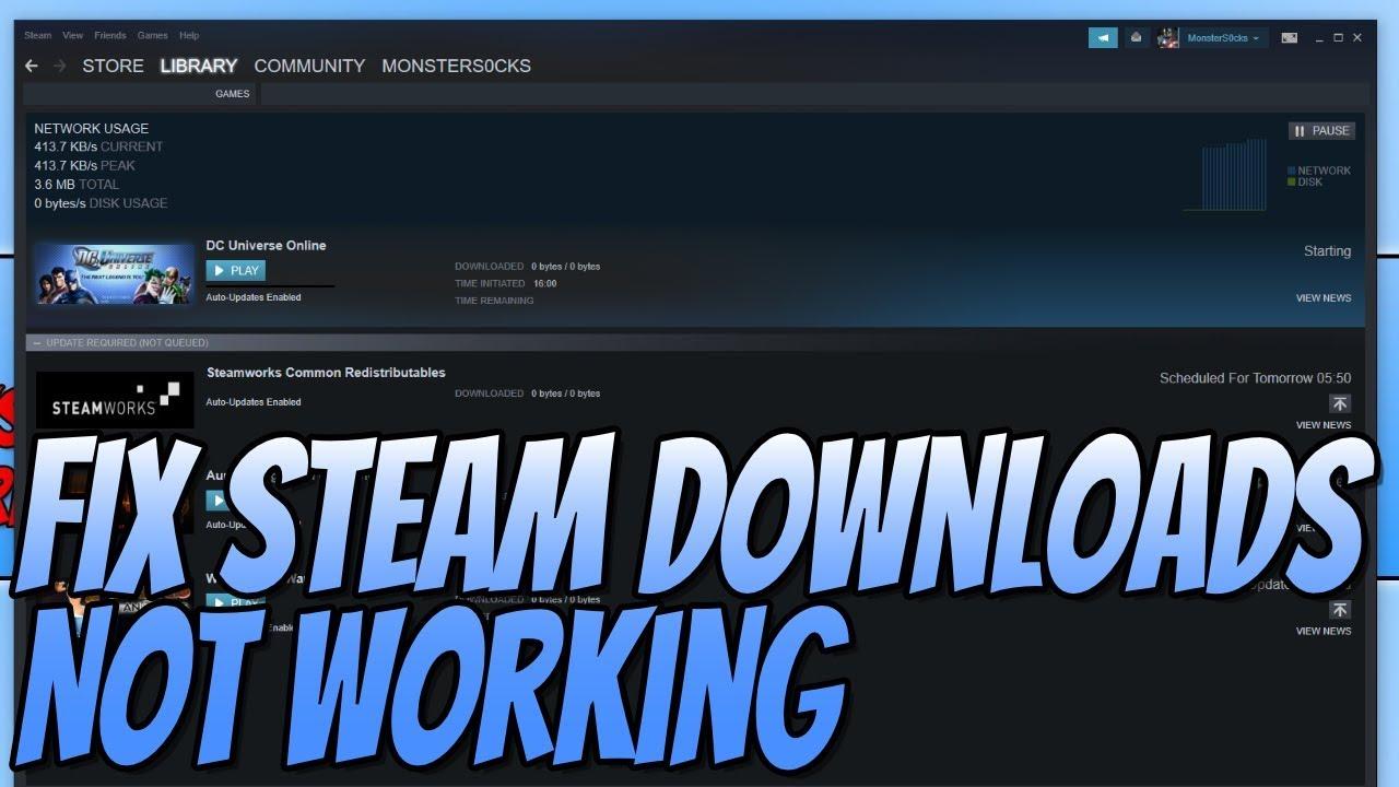 Как исправить зависание игры Steam на 100?