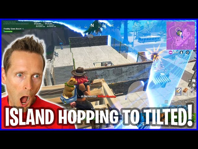 Island Hopping turn into Hide n Seek in Tilted Towers!