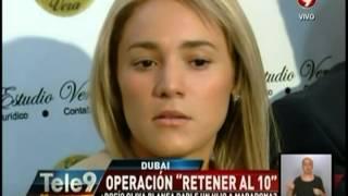 """Operación """"retener al 10"""" ¿Rocío Oliva planea darle un hijo a Maradona?"""