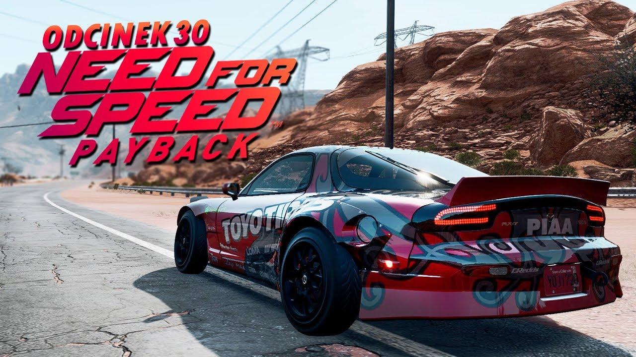 Need for Speed Payback UPDATE PL (DUBBING) #30 – W KOŃCU JEST MAZDA RX7! – PC