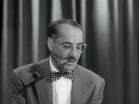 Groucho Marx - You Bet Your Life 6-12-55 - YouTube
