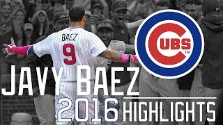 Javier Baez | Chicago Cubs | 2016 Highlights Mixᴴᴰ