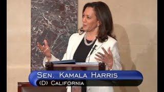 Sen. Tamala Harris Blasts GOP Health Care Plan - Full Speech On Senate Floor