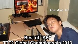 Repeat youtube video Best of AK: From TTT2 Global Championship 2013