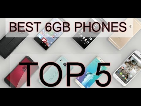 BEST 6GB Phones with Snapdragon 821/SD 820/TOP 5/Mobiles/Chinese/unique/upcoming/released/2016/2017