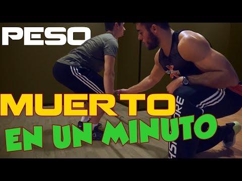 EL PESO MUERTO EN 1 MINUTO