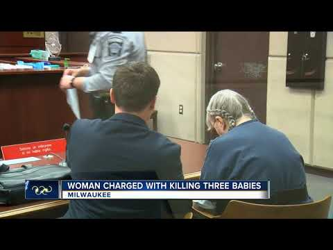 'I can't take kids that constantly cry': Woman charged for three infant murders from the 1980s