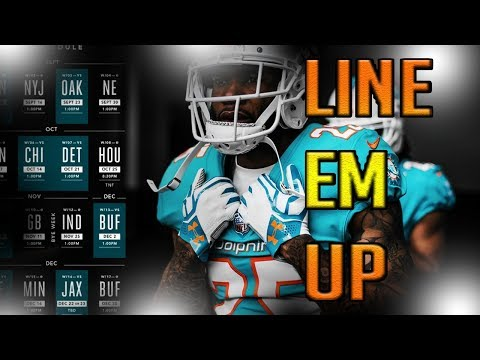 WE READY! MIAMI DOLPHINS FAN REACTION TO THE MIAMI DOLPHINS 2018 SCHEDULE ( FULL SCHEDULE)