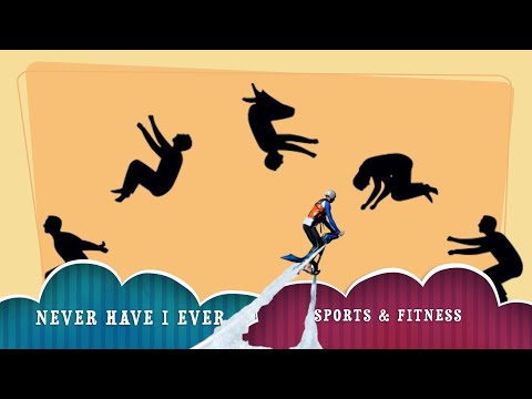 NEVER HAVE I EVER | FITNESS VERSION