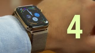 Apple Watch Series 4 (Gold) - Le grand luxe ?