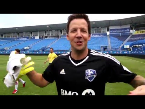 Soccer Photo Shoot (Behind The Scenes) - Simple Plan