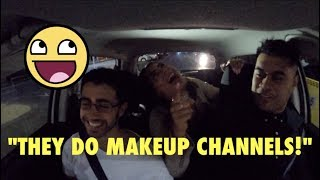APPARENTLY IT'S A MAKEUP CHANNEL? (Funny Uber Rides)