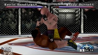 Ultimate Fighting Championship Gameplay UFC Tournament (PlayStation,PSX,PS1)