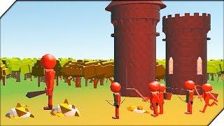 ВЕЛИКАНЫ СТИКМЕНЫ АТАКУЮТ ЗАМОК - НОВАЯ Игра Stickman:Legacy of War 3D Прохождение. Стикмены атакуют