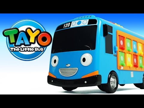 Thumbnail: Learn Colors and Numbers 1 to 10 Tayo the Little Bus Pop up Surprise Pals Milk Carton Surprise Toys