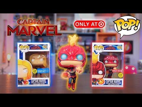 Captain Marvel Funko