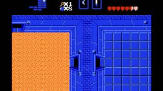 The Legend of Zelda - Legend of Zelda, The (NES) Dungeon 2 The Moon - Vizzed.com GamePlay - User video