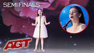 Emanne Beasha | Semifinals - America's Got Talent 2019 | Quello Che Faro (Everything I Do)