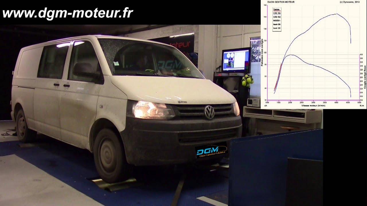 reprogrammation volkswagen transporteur t5 2 0l tdi 180ch dijon gestion moteur youtube. Black Bedroom Furniture Sets. Home Design Ideas