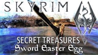 Skyrim Secret Treasure - Sword in the Lake Easter Egg (Skyrim's Best Secrets, Treasures & Places)
