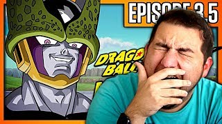 WUH HAPPEN?! | Kaggy Reacts to Dragon Ball Z KAI Abridged Parody: Episode 3.5 - TeamFourStar (TFS)