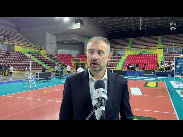 2^ Giornata Superlega | Nikola Grbic commenta il 3-1 contro Verona