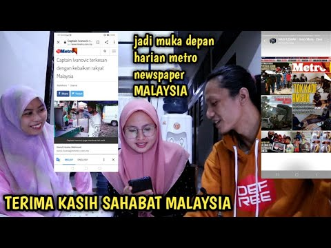 TAK SANGKA BOLEH MASUK NEWSPAPER HARIAN METRO MALAYSIA