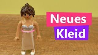 Playmobil DIY Deutsch | Stellas NEUES Kleid | Super einfach mit silber Folie & Loom Band | Kids DIY