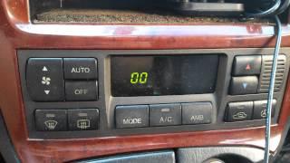 диагностика климат-контроля sonata EF