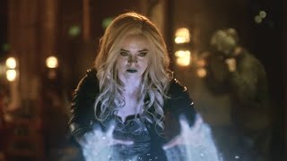 The Flash 2x14 Killer Frost vs Zoom fight scene.