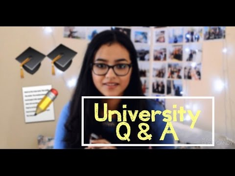 Q & A #3 (University/College): Al Akhawayn University , Time Management...|| Sofia Abid || 2016