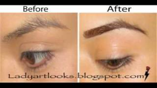 eye brow tutorial how to get the perfect brow shaping and shading your eyebrows